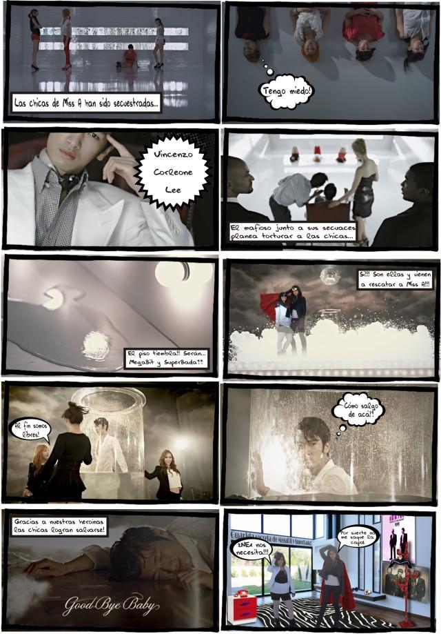 K-pop Comic